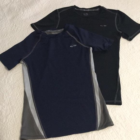7f4ea5d17 Champion Shirts & Tops | 2 Like New Boys Power Core Shirts Sz L ...